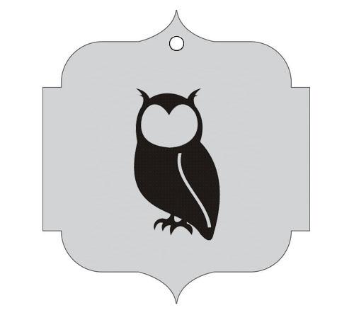 Ploščica za živali - SOVA