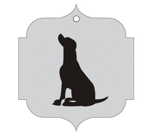 Ploščica za živali - PES