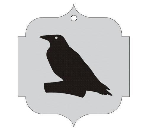 Ploščica za živali - VRANA