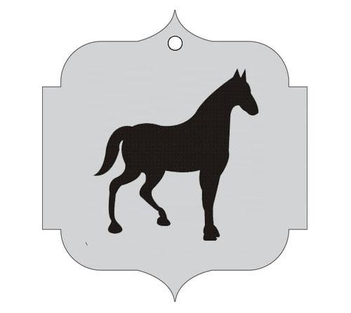 Ploščica za živali - KONJ
