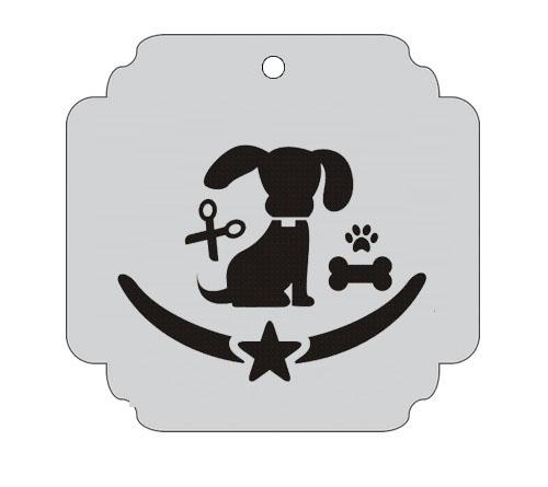 Ploščica za živali - PASJI SERVIS