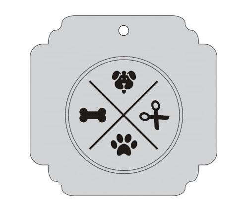 Ploščica za živali - SALON