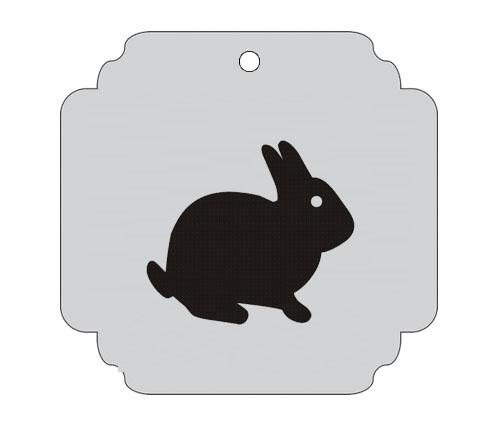 Ploščica za živali - ZAJČEK