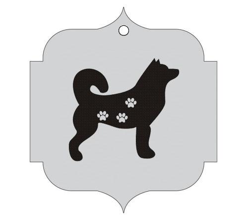 Ploščica za živali - HUSKY