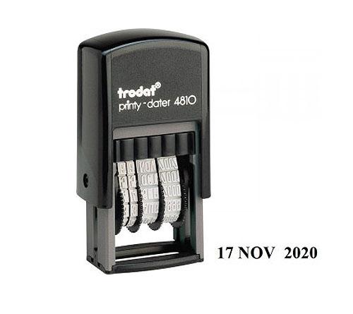 TRODAT - 4810 (datirka)
