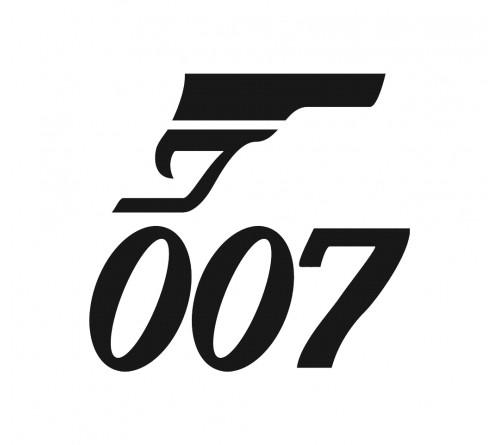 Majica z logotipom - BOND 007
